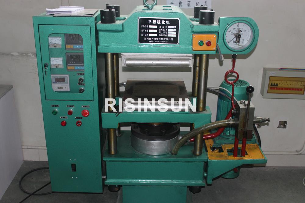 Máquina de vulcanización de placas